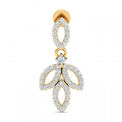DANUTA DIAMOND DROPS EARRINGS in 18K Gold