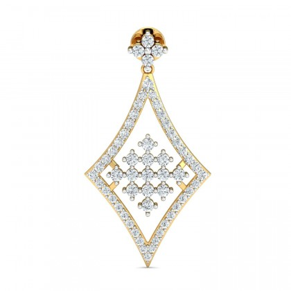 MIKI DIAMOND DROPS EARRINGS in 18K Gold