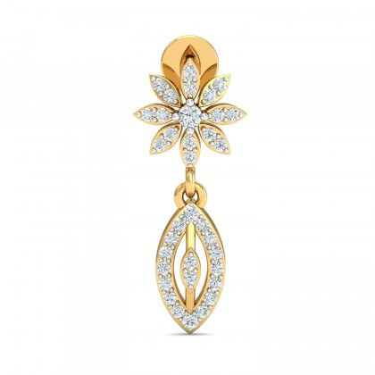TAMATHA DIAMOND DROPS EARRINGS in 18K Gold