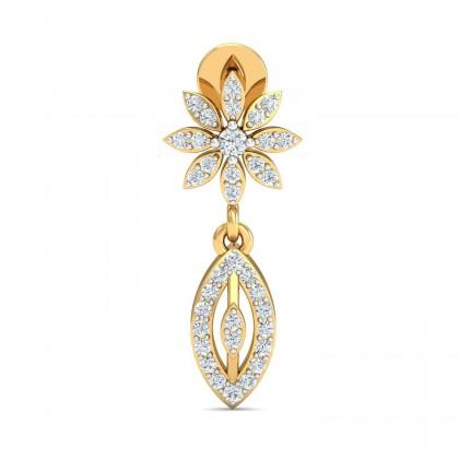 TAMATHA DIAMOND DROPS EARRINGS in 18K Gold