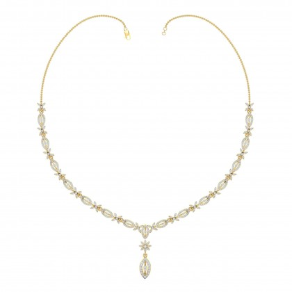 DORTHEY DIAMOND  NECKLACE in 18K Gold