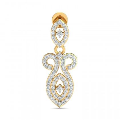 SONYA DIAMOND DROPS EARRINGS in 18K Gold