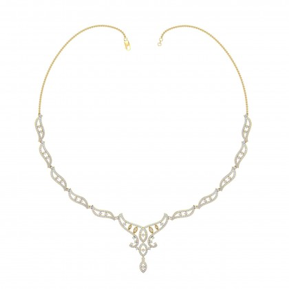 ARDIS DIAMOND  NECKLACE in 18K Gold