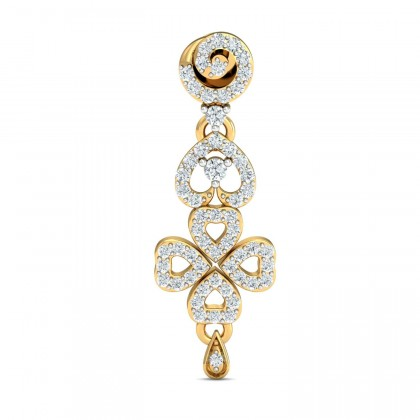 VASHTI DIAMOND DROPS EARRINGS in 18K Gold