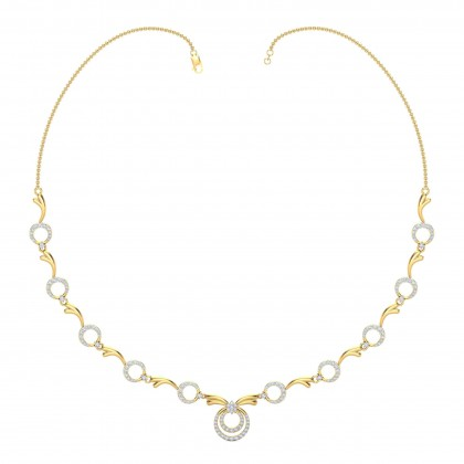 PHUNG DIAMOND  NECKLACE in 18K Gold
