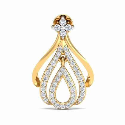 TIMIKA DIAMOND DROPS EARRINGS in 18K Gold