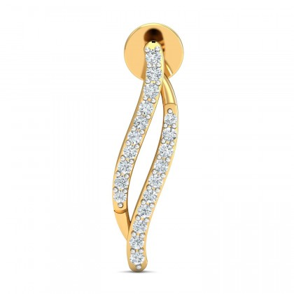 LETICIA DIAMOND DROPS EARRINGS in 18K Gold