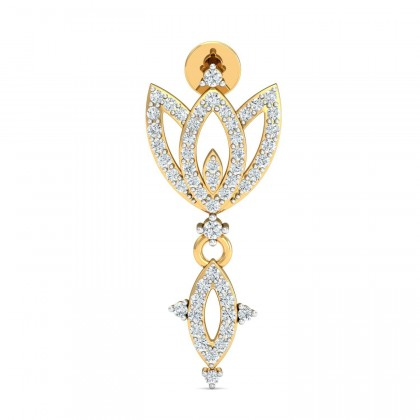 MAGDALEN DIAMOND DROPS EARRINGS in 18K Gold