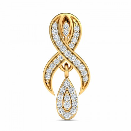 YEN DIAMOND DROPS EARRINGS in 18K Gold