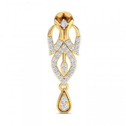 AIKO DIAMOND DROPS EARRINGS in 18K Gold