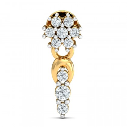 VASILIKI DIAMOND DROPS EARRINGS in 18K Gold