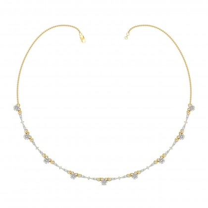 JENA DIAMOND  NECKLACE in 18K Gold