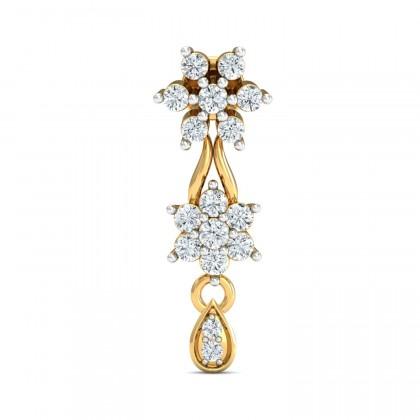 EVE DIAMOND DROPS EARRINGS in 18K Gold