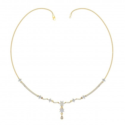 JANISE DIAMOND  NECKLACE in 18K Gold