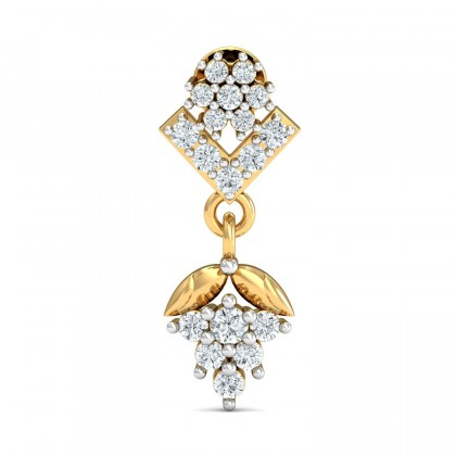 ALBERTHA DIAMOND DROPS EARRINGS in 18K Gold