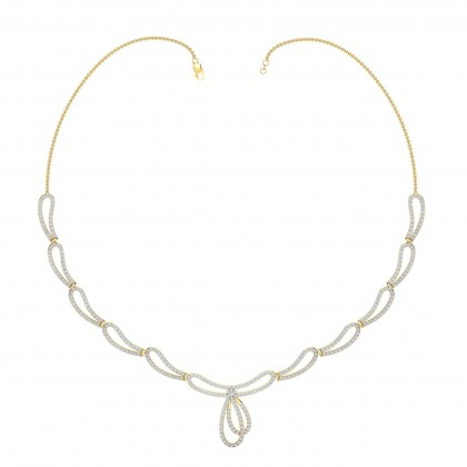 MARITA DIAMOND  NECKLACE in 18K Gold