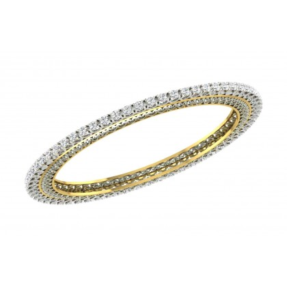 SONDRA DIAMOND  BANGLE in 18K Gold