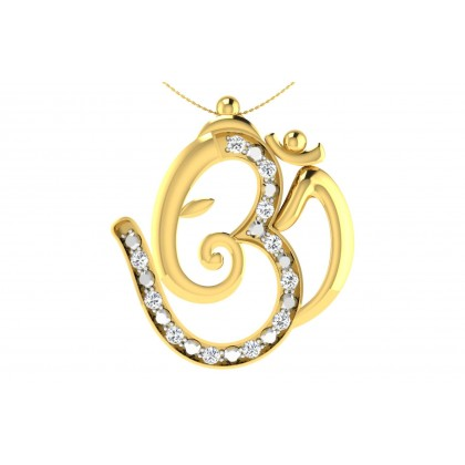 DEVA DIAMOND RELIGIOUS PENDANT in 18K Gold
