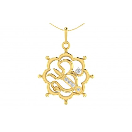 JANNA DIAMOND RELIGIOUS PENDANT in 18K Gold