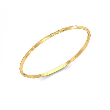 PARI  BANGLE in 18K Gold
