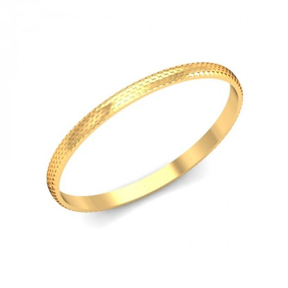 RIYA  BANGLE in 18K Gold