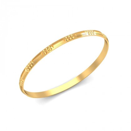 KIARA  BANGLE in 18K Gold