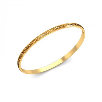 MISHKA  BANGLE in 18K Gold