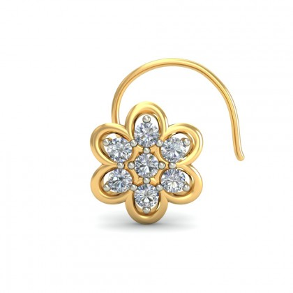 SELAH DIAMOND  NOSEPIN in 18K Gold