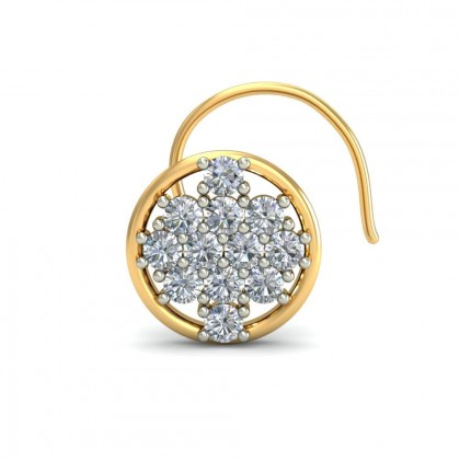 PAOLA DIAMOND  NOSEPIN in 18K Gold