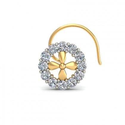 AMILIA DIAMOND  NOSEPIN in 18K Gold