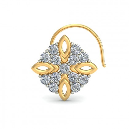 BINDU DIAMOND  NOSEPIN in 18K Gold