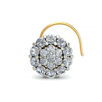 ANCHAL DIAMOND  NOSEPIN in 18K Gold