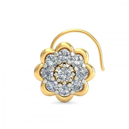 ALEA DIAMOND  NOSEPIN in 18K Gold