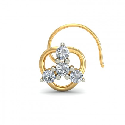 SHILNA DIAMOND  NOSEPIN in 18K Gold