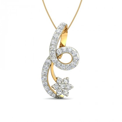 DEVMANI DIAMOND FASHION PENDANT in 18K Gold