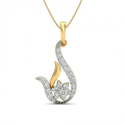 AKUTI DIAMOND FASHION PENDANT in 18K Gold