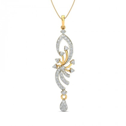 SETU DIAMOND FASHION PENDANT in 18K Gold
