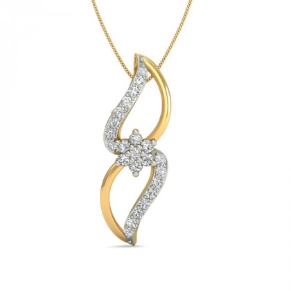 SWATI DIAMOND FASHION PENDANT in 18K Gold