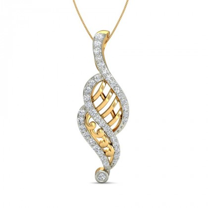 AKSHATA DIAMOND FASHION PENDANT in 18K Gold