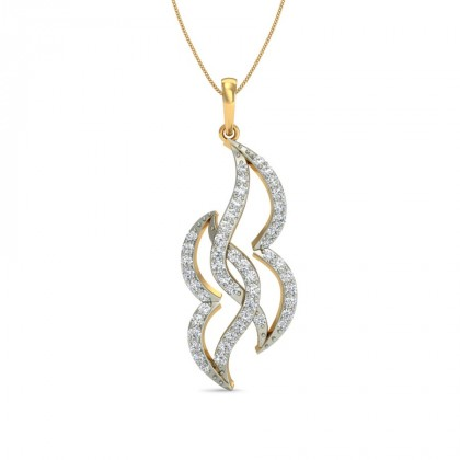 TVISHA DIAMOND FASHION PENDANT in 18K Gold
