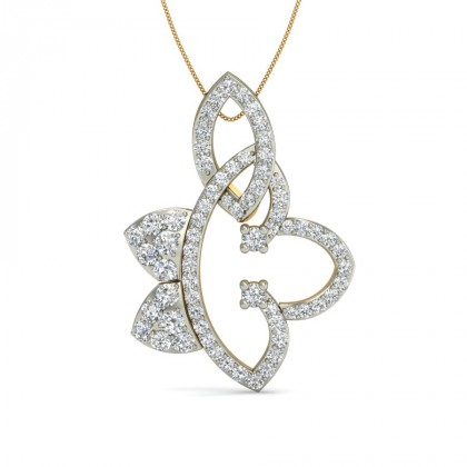 ASHMI DIAMOND FASHION PENDANT in 18K Gold