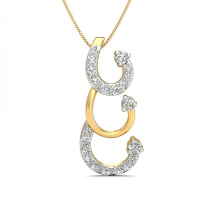 TORI DIAMOND FASHION PENDANT in 18K Gold