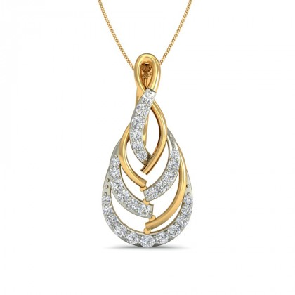 ROSHNI DIAMOND FASHION PENDANT in 18K Gold