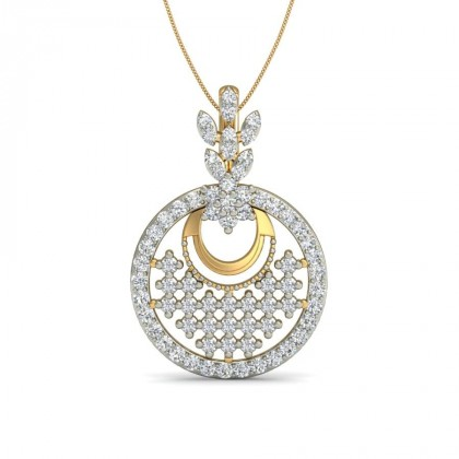 SHERLYN DIAMOND FASHION PENDANT in 18K Gold
