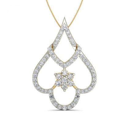 MARIAM DIAMOND FASHION PENDANT in 18K Gold