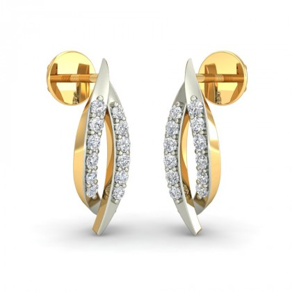 ANOKHI DIAMOND STUDS EARRINGS in 18K Gold