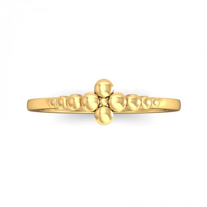 VEDA DIAMOND CASUAL RING in 18K Gold