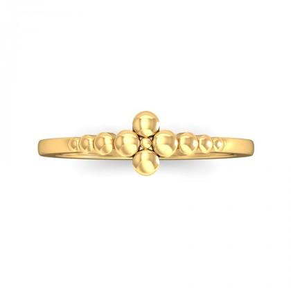 VEDA DIAMOND CASUAL RING in 18K Gold