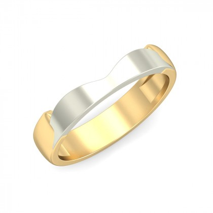 ADVIKA DIAMOND BANDS RING in 18K Gold