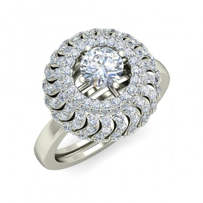 CANDICE DIAMOND COCKTAIL RING in 18K Gold